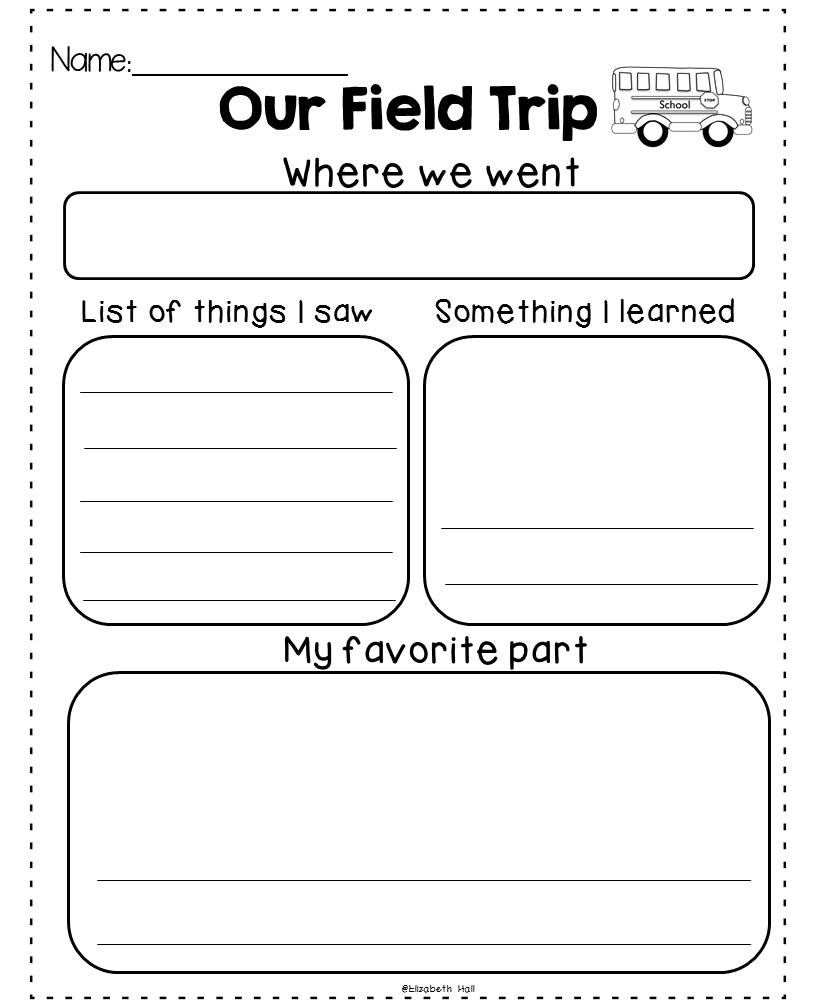 Field Trip Exhaustion {freebie}