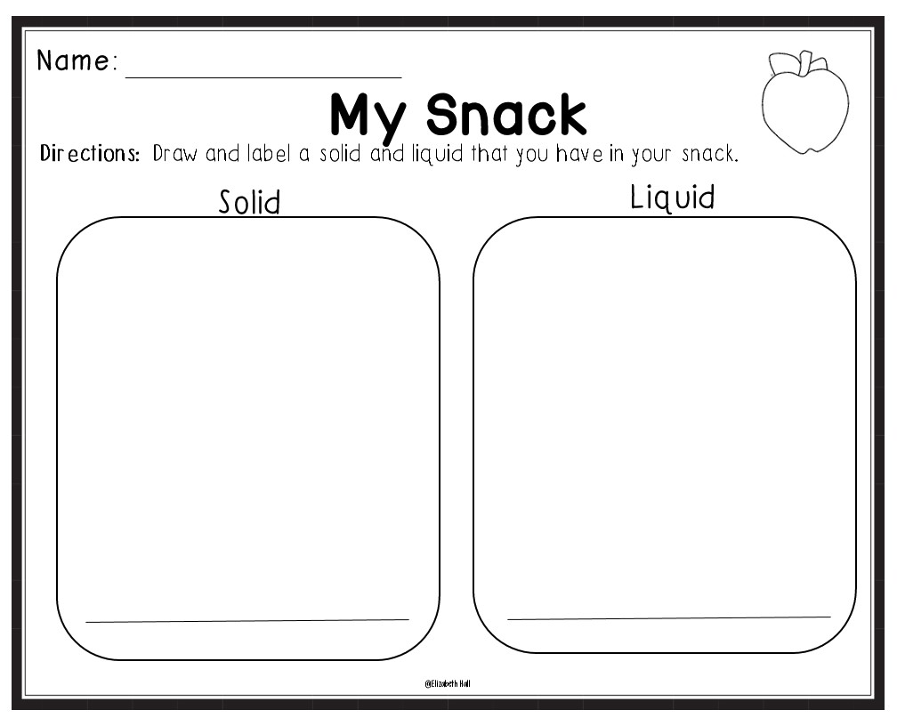 States of Matter for Little Learners {with a freebie}