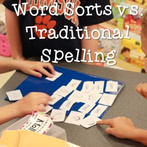 Word Study vs. Traditional Spelling