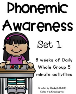 Phonemic Awareness for Little Learners