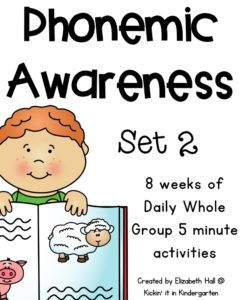 Phonemic Awareness Set 2